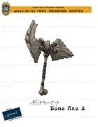 CSC Stock Art Presents: Bone Axe 3