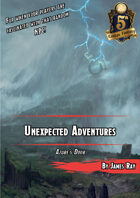 Unexpected Adventures: Azure's Door 5E
