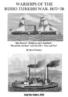 Warships of the Russo Turkish War, 1877-78