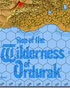 The Wilderness of Ordurak - Map only