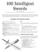 100 Intelligent Swords