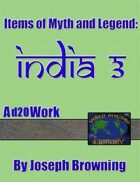 World Building Library: Items of Myth and Legend: India 3