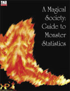 A Magical Society: Guide to Monster Statistics