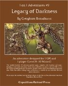 1 on 1 Adventures #9: Legacy of Darkness