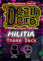 Death Derby: Militia Theme Deck
