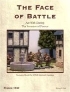 Act With Daring, France 1940 Scenario Book