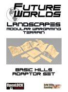 Future Worlds Landscapes:  Basic Hills Adaptor Set