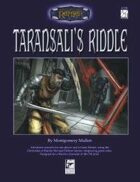 Taransali's Riddle