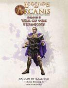 Legends of Arcanis Raiders of Maalioch HP 3-3
