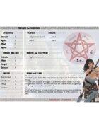 Barbarians of Lemuria: Mythic Edition - Character Sheets