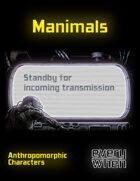 Manimals: Anthropomorphic Characters