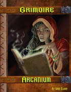 Grimoire Arcanium W/Hero Designer Files and/or Print On Demand