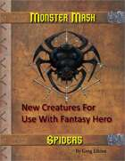 Monster Mash - Spiders