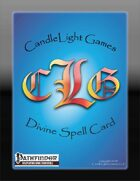 Blank Divine Spell Cards