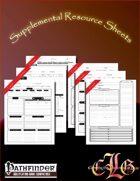 CandleLight Games Supplemental Sheet