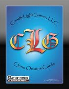 Cleric/Oracle Orisons Cards
