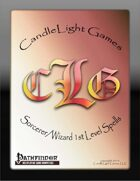 Sorcerer/Wizard 1st Level Spell Cards