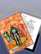 Illustrated Sundered Era Armor Cards