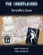 The Unexplained: Storyteller's Screen PDF