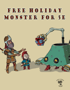 Skull Dixon's 5e Christmas Monster