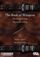 The Book of Weapons:The Demon's Fang and the Armor of Nyx