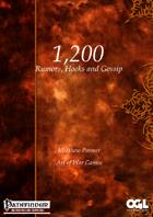 1200 Rumors, Hooks and Gossip