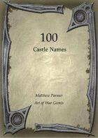 100 Castle Names