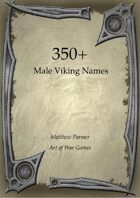 350+  Male Viking Names
