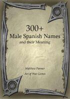 300+  Male Spanish Names and Their Meaning