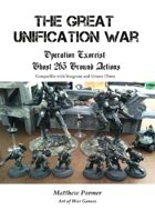 The Great Unification War Campaign: Operation Exorcist: Ghost 263 Ground Action: Compatible with Stargrunt II and Gruntz 15mm