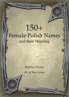 150+ Polish Female Names and Their Meaning