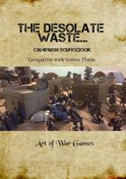 A Desolate Waste: Post Apocalyptic Skirmish: Compatible with Gruntz 15mm