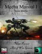 Mecha Manual I : Scout Mecha