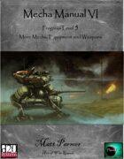 Mecha Manual VI: PL5 More Mecha, Equipment and Weapons