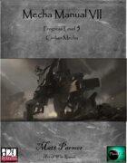 Mecha Manual VII: PL5 Civilian Mecha