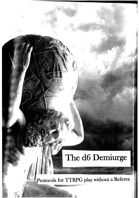 The d6 Demiurge, Protocols for Solo Play