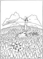 Lake of Abominations Hexcrawl [BUNDLE]