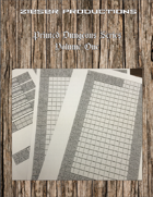 Printed Dungeons Volume One