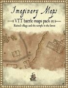 VTT battle maps pack 01