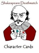 Shakespeare Deathmatch Character Cards