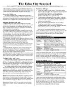 Echo City Sentinel Issue 2