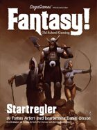Fantasy! Startregler. Swedish version.