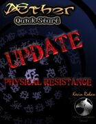Æther Quick Start Update - Physical Resistance
