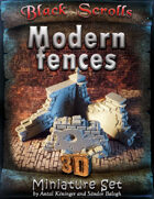 BSG Miniatures - Modern Fences