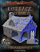 [3D] City of Tarok: Cottage and bakery