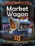 BSG Miniatures - Market Wagon