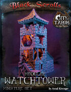 [3D] City of Tarok: Modular Watchtower