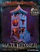 [3D] City of Tarok: Modular Watchtower