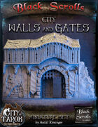 [3D] City of Tarok: City Walls and Gates
