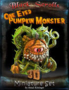 3D printable Pumpkin Monster